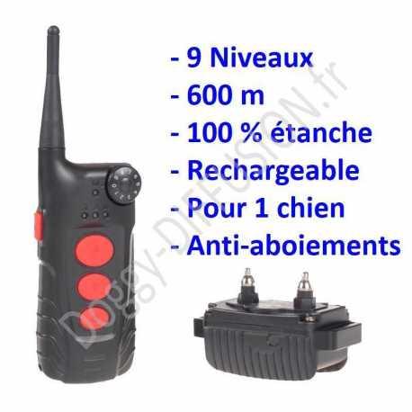 collier-de-dressage-chien-600m-etanche-rechargeable-telecommande