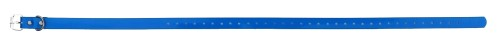 Sangle collier de dressage pour chien bleue 73cm