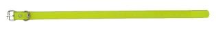 Sangle collier de dressage pour chien jaune 40cm