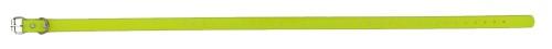 Sangle collier de dressage pour chien jaune 73cm