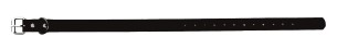 Sangle collier de dressage pour chien noire 40cm
