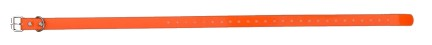 Sangle collier de dressage pour chien orange 59cm