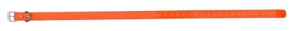Sangle collier de dressage pour chien orange 59cm