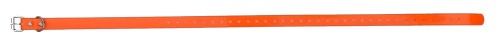 Sangle collier de dressage pour chien orange 73cm
