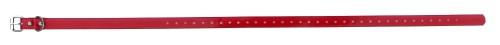 Sangle collier de dressage pour chien rouge 73cm